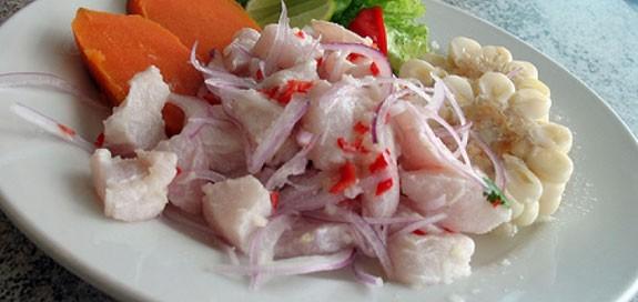 Ceviche Peruano De Pescado Recetas De Ceviche